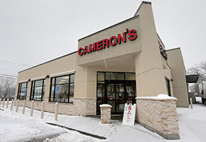 The Cameron liquor store in Inver Grove Heights. The Supreme Court rejected the argument that comparable property must be available for purchase at the time the land was taken. (Staff photo:Bill Klotz)