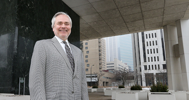 """I sometimes get teased by friends I went to law school with,"" says Ted Grindal, of Lockridge Grindal Nauen. ""They tell me 'I'm a real lawyer. I'm not a lobbyist like you.' I have no problem telling people that I am lobbyist.""  (Staff photo: Bill Klotz)"