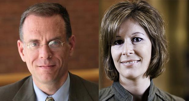 Dale Carpenter, University of Minnesota Law School (left) and Nancy Haas, Messerli & Kramer (right)