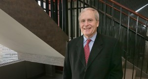 """Steven Lundberg left Merchant & Gould in 1993 with two colleagues to form Schwegman, Lundberg & Woessner. Lundberg is quick to credit his former firm for shaping local intellectual property law. """"Merchant & Gould taught everyone how to do this work and how to run a law firm. I can't say enough about that place."""" (Staff photo: Bill Klotz)"""