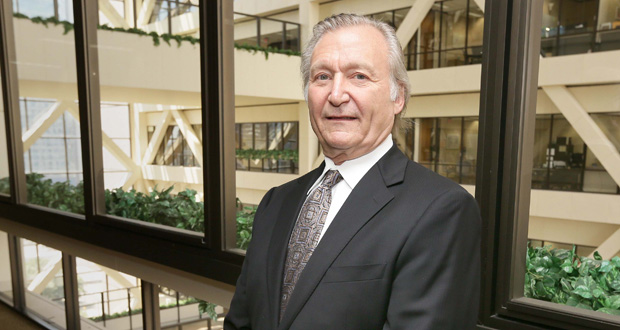 """John Bonner is locked in a legal battle over the exit of an attorney from his firm. """"We didn't part on great terms,"""" he acknowledges. The dispute includes allegations of defamation and wrongful garnishment. (Staff photo: Bill Klotz)"""