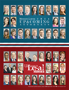 Click here to read the 2014 Unsung Legal Heroes digital edition.
