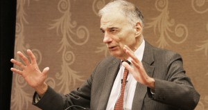 Nader challenges lawyers to be agents of change