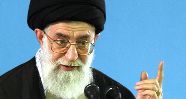 Iranian Supreme Leader Ali Khamenei has been critical of proposed terms in nuclear-weapons talks. (Bloomberg News photo)