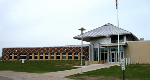 About 700 people are confined in sex offender facilities in Moose Lake or St. Peter. This photo shows the entrance to the Moose Lake center. (AP file photo)
