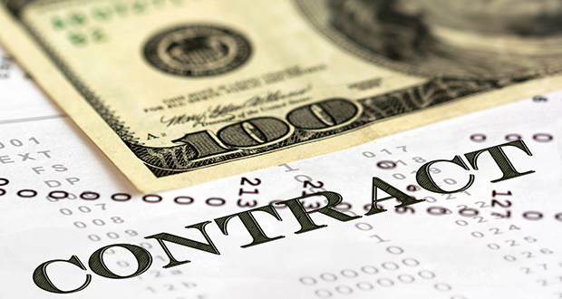 contract refund dollar