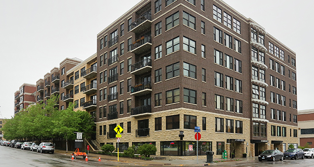 5th Avenue Lofts, located in the North Loop area of downtown Minneapolis, sent owners a memo in April threatening a fine of up to $5,000 for condo owners who tried to list their units for lease on websites. (Staff photo: Bill Klotz)