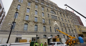 """Dominium converted the historic Pillsbury """"A"""" Mill into affordable lofts marketed to artists. With an average per unit cost of $665,000, it is the most expensive subsidized affordable housing development in the state's history. (File photo)"""