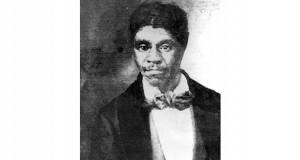 In the 1857 Supreme Court case Dred Scott v. Sandford, Scott, a slave, was taken north to free territory, including a time at Fort Snelling, and later sued for his freedom. Chief Justice Roger B. Taney declared that while slaves were people, the framers did not intend them to be considered persons with rights. Shown is a copy of a photograph of Scott found in the historic courthouse located in Thebes, Illinois. (AP file photo)