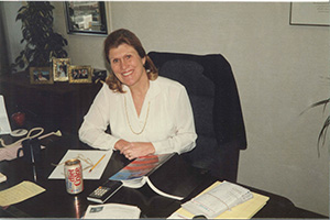 Betsy Norton (became the firm's first female partner in 1980) (Submitted photo)