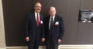 Frank Harris and Mike Galvin received Lifetime Achievement Awards from the Minnesota State Bar Association. (Submitted photo)