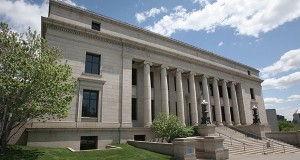 Within the imposing walls of the Minnesota Judicial Center, the Board of Pardons meets twice a year to consider requests to clear the records of past offenders. (File photo: Bill Klotz)
