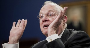 """One thing that didn't change this term was Justice Anthony Kennedy's status as the court's most frequent pivot point. """"It is still Justice Kennedy's court, for the moment at least,"""" said Steven R. Shapiro, national legal director of the American Civil Liberties Union. (Bloomberg News photo)"""