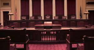 Before arguing a case in a setting like the Minnesota Supreme Court chamber, pictured, even the most skilled appellate advocate needs to have practiced, practiced and then practiced some more. (File photo: Bill Klotz)