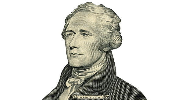 """The musical """"Hamilton"""" is based on Ron Chernow's biography and tells the story of Alexander Hamilton's ascent and fall—from an orphan on the island of Nevis to Treasury secretary to death at Aaron Burr's hand. (Thinkstock image)"""
