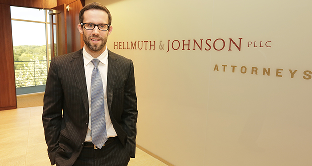 """""""You want to spur compliance without inflaming the situation,"""" says Matthew J. Bialick, an attorney with Hellmuth & Johnson who often works on behalf of creditors. (Staff photo: Bill Klotz)"""