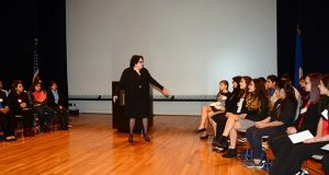 U.S. Supreme Court Justice Sonia Sotomayor met Oct. 18 with students participating in the Latino Legal Experience in Minnesota mentoring program. (Submitted photo)