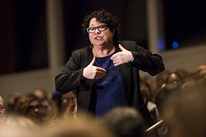 Justice Sonia Sotmayor said she wanted to be a judge at a young age. (AP photo: Star Tribune)
