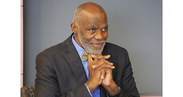 Alan Page was Minnesota's first African-American justice but said he never spent much time thinking about being the only one. (Staff photo: Bill Klotz)