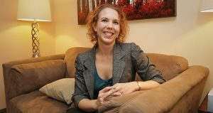 Amanda Mulfinger, president and owner of Cabot Psychological Services in Edina, says counseling can help a lawyer who feels as if anxiety is getting in the way of work. (Staff photo: Bill Klotz)