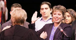 Anne McKeig became the first Native American to serve on the Minnesota Supreme Court, taking the oath of office on Sept. 15. (File photo: Bill Klotz)