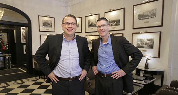 Andrew Rorvig and Paul McEllistrem