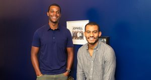 Porter Braswell, left, and Ryan Williams started Jopwell to connect job seekers and employers hoping to improve their diversity recruitment.