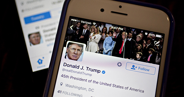 To be sure, Richard Painter's 18,000 Twitter followers pale in comparison to President Donald Trump's cohort (23 million strong and counting). Then again, Painter only joined Twitter in 2014 and he didn't really find his mojo until last year, when Trump emerged as the front-runner for the GOP nomination. (Bloomberg News file photo)