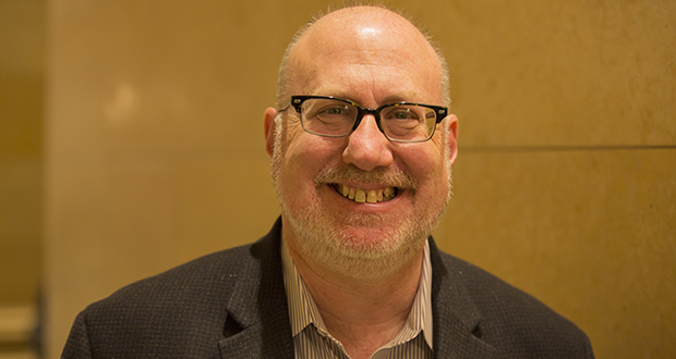 Rep. Frank Hornstein, DFL-Minneapolis, offered an unsuccessful House omnibus transportation bill amendment to strip out a $3 million liability cap for railroads sharing corridors with light-rail trains. (Staff photo: Kevin Featherly)