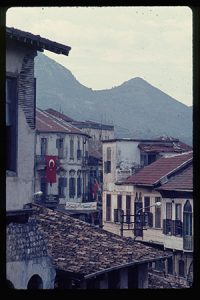 In the 1960s, Eric Janus signed on for a two-year stint to teach English and math to Turkish high-schoolers, courtesy of the U.S. Peace Corps. This photo shows Antakya, Turkey, in 1968. (Submitted photo: Eric Janus)