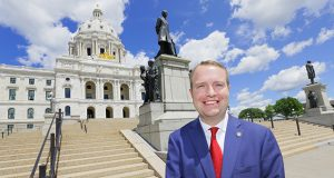 Rep. Nick Zerwas, R-Elk River, was born with a serious heart defect that has required multiple surgeries since childhood. (Staff photo: Bill Klotz)