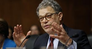 Sen. Al Franken has announced he'll oppose Justice David Stras' nomination to the 8th U.S. Circuit Court of Appeals. (AP file photo)