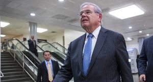 Sen. Bob Menendez, D-N.J., is charged with using his political influence to help a wealthy campaign donor. (AP file photo)