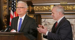 Justice David Lillehaug was appointed to the Minnesota Supreme Court by Gov. Mark Dayton in March 2013. (File photo)