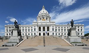 The Capitol is a Renaissance Revival structure, a style of architecture popular in the 19th century and focused on classic Italian modes of design. (Staff photo: Bill Klotz)