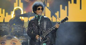 Prince performs at the Billboard Music Awards on May 19, 2013, at the MGM Grand Garden Arena in Las Vegas. (AP file photo)