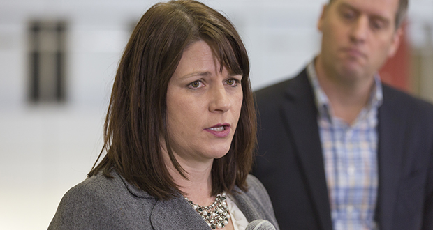 House Majority Leader Joyce Peppin, R-Rogers, says the standoff between lawmakers and Gov. Mark Dayton might not resolve quickly — if at all — next year. (File photo: Kevin Featherly)