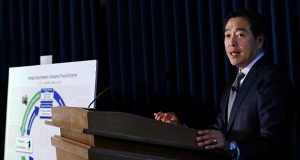 Turkey is investigating Joon H. Kim (pictured), acting U.S. attorney for the Southern District of New York, and his predecessor, Preet Bharara, over how evidence was collected in the case against Reza Zarrab, a Turkish-Iranian gold trader. (Bloomberg News)