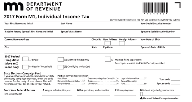 Minnesota is among 36 states using state income tax forms that start with the taxable income listed on a taxpayer's federal return, according to the nonpartisan Tax Foundation.
