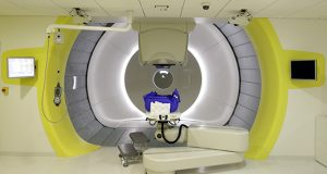 """Blue Cross Blue Shield Minnesota initially refused to pay for proton-beam therapy to treat James Linn's cancer, deeming the procedure """"investigative."""" This photo shows a proton-beam treatment room. (AP file photo)"""