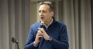 Former Minnesota Gov. Tim Pawlenty announced last month he would run for his old job, ending months of speculation about a return to politics. (File photo: Matt M. Johnson)