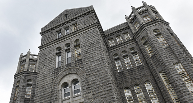 Under the Senate bonding proposal, the Minnesota Correctional Facility-St. Cloud gets $16.2 million to replace ancient, rotting clay sewer pipes. That represents full funding of the Corrections Department's request for the project. The House offered no money. (AP photo: St. Cloud Times)