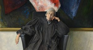 This painting of 8th U.S. Circuit Court of Appeals Judge Diana Murphy hangs in her chambers in Minneapolis. (Submitted image: Jason Bouldin, Bouldin Studio)