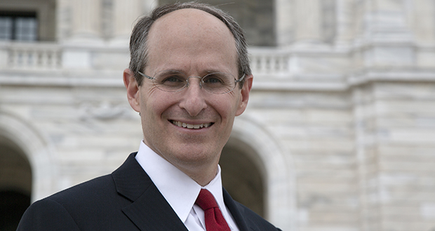 Mike Rothman was something of a political lightning rod during his seven years as commerce commissioner. But he insists he is the only candidate ready to tackle the job from day one. (Staff photo: Kevin Featherly)