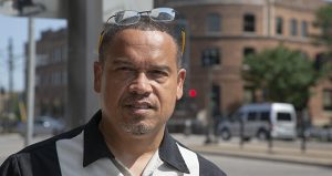 """Keith Ellison, the state's 5th District U.S. representative, says the time is right for him to become Minnesota's attorney general. """"People are going to support me,"""" he said. """"It's going to happen. (Staff photo: Kevin Featherly)"""