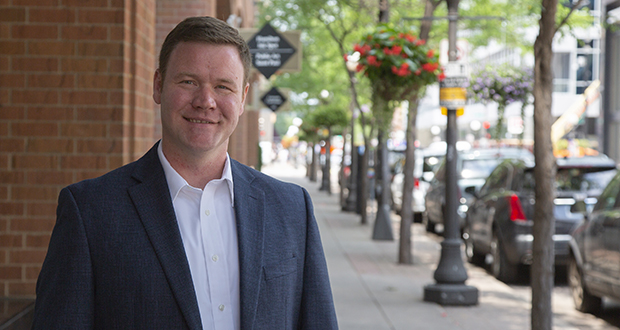 "Doug Wardlow, the GOP nominee in the attorney general's race, wants to revive an emphasis on ""the rule of law"" within the office. He would do that, in part, by beefing up the office's criminal justice division. (Staff photo: Kevin Featherly)"