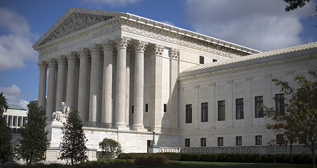 Abortion isn't the only issue at stake with President Donald Trump's Supreme Court pick: A new justice could solidify a conservative majority that would move the court to the right on health care, gay rights, affirmative action, the death penalty, voting rights and the government's regulation of business. This photo shows the Supreme Court building in Washington. (AP file photo)