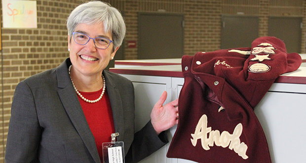 Minnesota Supreme Court Justice Margaret H. Chutich was among 10 honorees inducted Friday into the Anoka High School Hall of Fame. (Submitted photo)