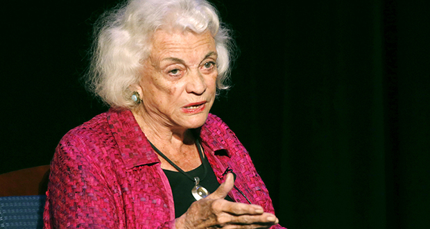 On issue after issue, Justice Sandra Day O'Connor crafted decisions that fell between the bold rights-expansion of the Warren court liberals and the aggressive, activist rolling-back favored by the swashbuckling conservatives led by Justice Antonin Scalia. (AP file photo)