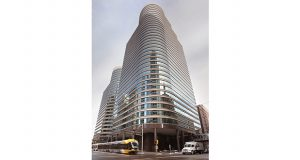 Intellectual property law firm Merchant & Gould will move next summer into new offices on the 21st and 22nd floors of the Fifth Street Towers, at 150 Fifth St. S. in downtown Minneapolis. (File photo: Bill Klotz)